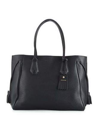 Longchamp Penelope Large Leather Tote Bag $945 thestylecure.com