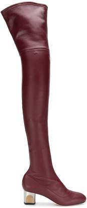Alexander McQueen over-the-knee boots
