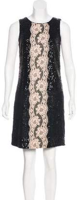 Dolce & Gabbana Sequined Cocktail Dress