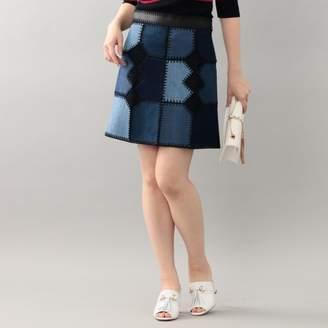 GUILD PRIME (ギルド プライム) - ギルドプライム 【LOVELESS】WOMENS カラーブロックインディゴスカート