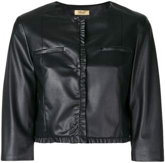 Liu Jo cropped biker jacket