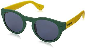 Havaianas Unisex's TRANCOSO/M 9A QPN Sunglasses, Green Yellow Blue
