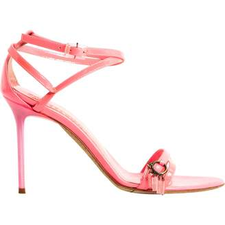 John Galliano Pink Patent leather Sandals