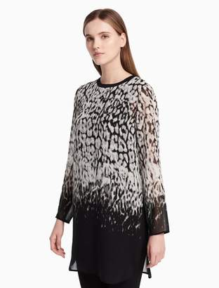 Calvin Klein printed long tunic