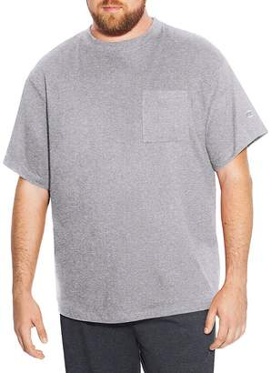 Champion Big Tall Men`s Short Sleeve Pocket Jersey Tee, CH310