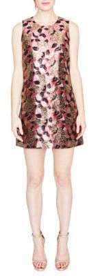 Rachel Roy Sleeveless Floral Jacquard Shift Dress
