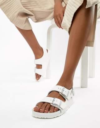 b26a29d3e4ab Birkenstock White Flat Sandals For Women - ShopStyle UK
