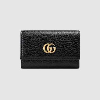 Gucci GG Marmont leather key case