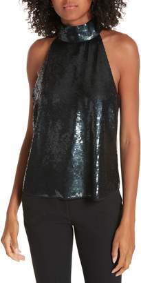 Joie Lei Lei Sequin Sleeveless Top