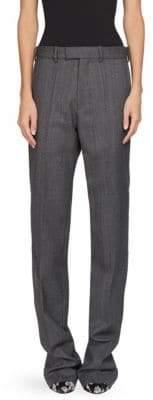 Balenciaga Prince Of Wales Wool Trouser