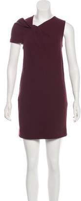 3.1 Phillip Lim x Linda Farrow Asymmetrical Virgin Wool Dress