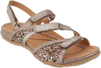 Earth Leather Multi-strap Sandals - Maui