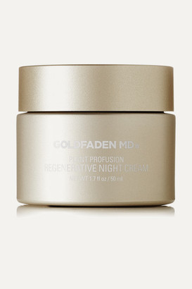 Goldfaden Plant Profusion Regenerative Night Cream, 50ml - Colorless