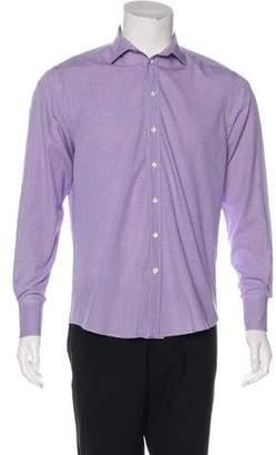 Rag & Bone Check Woven Dress Shirt