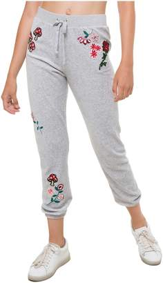 Juicy Couture Floral Couture Velour Silverlake Pant
