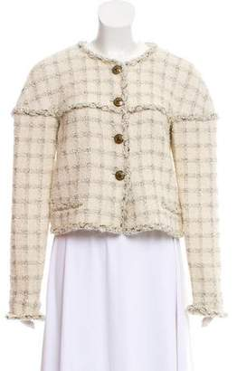 Chanel Wool-Blend Tweed Jacket w/ Tags