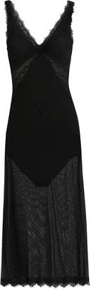 Jonathan Simkhai Night Night By Lace Bodysuit Dress