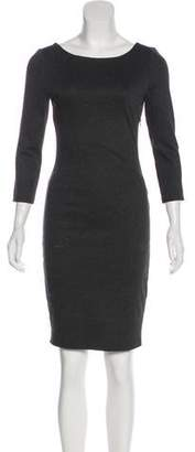Alice + Olivia Mesh-Accented Bodycon Dress