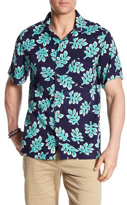 Trunks Surf and Swim CO. Waikiki Leaf Print Shirt