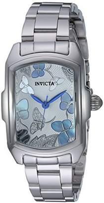Invicta Women's 'Lupah' Quartz Stainless Steel Dress Watch