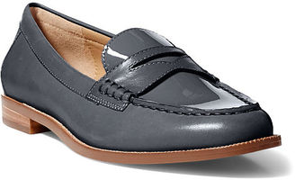 Ralph Lauren Lauren Barrett Patent Leather Loafer $98 thestylecure.com