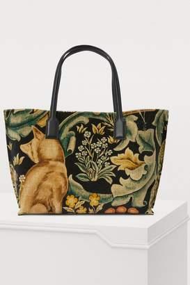 Loewe Fox large shopper bag