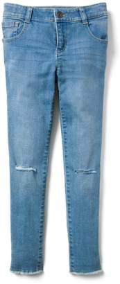 Crazy 8 Crazy8 Stretch Frayed Hem Jeans