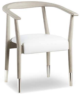 Soho Armchair - White Leather - Kelly Hoppen