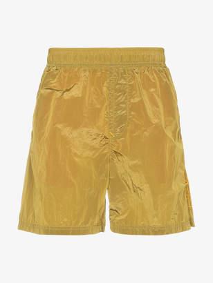 Stone Island metal garment dyed swim shorts