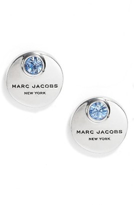 Women's Marc Jacobs Mj Coin Stud Earrings $45 thestylecure.com