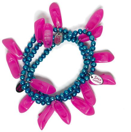 Sara Gallo Jewelry Blossom Bracelet Day Lily