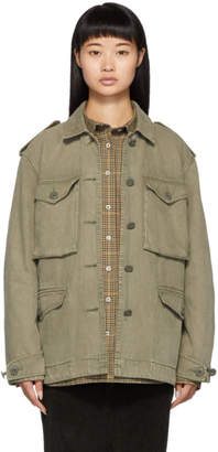 Rag & Bone Khaki Army Tent Field Jacket