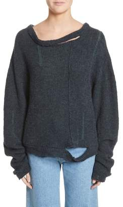 Eckhaus Latta Wiggly Road Sweater
