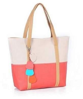 Christian Louboutin LCL C&L 1PC Sweet Elegent Mixed Color Totes Chain Pendants Hobo Shoulder Bag Handbag (Hot Pink)