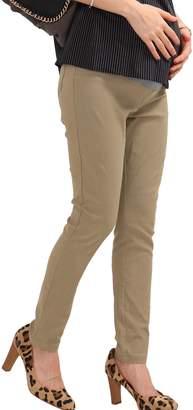 Sweet Mommy Stretchy Skinny Leg Maternity Colored Pants NVDENIMXL