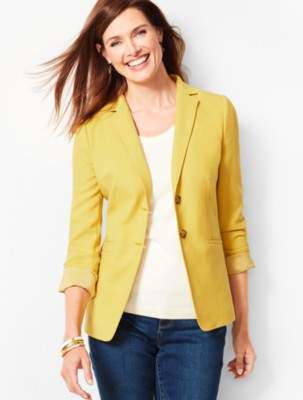 Talbots Bi-Stretch Wool Blazer
