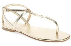 Saint Laurent Nu Pied T-Strap Sandal