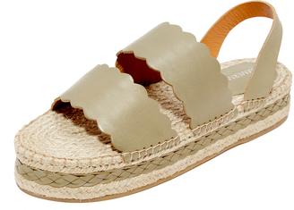 Zimmermann Scallop Espadrille Sandals