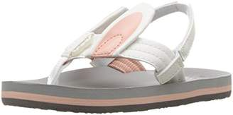 Reef Little Ahi Cuties Bunny, Girls' Flip Flop, Multicolor (Bunny), 3/4 UK (35/36 EU)