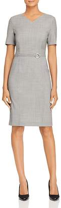 BOSS Davilla Houndstooth Sheath Dress