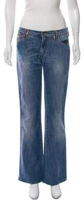 Dolce & Gabbana Mid-Rise Flared Jeans