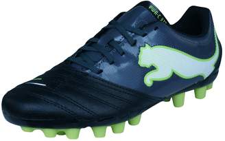 Puma Powercat 3.12 R MG Boys Leather Soccer Boots/Cleats