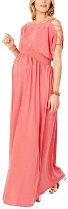 Ingrid & Isabel Smocked Empire Maxi Dress