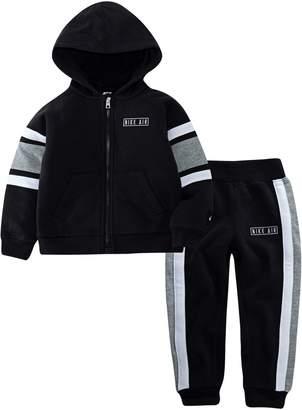 Nike Little Boy's 2-Piece Cotton-Blend Hooded Jacket Pants Set