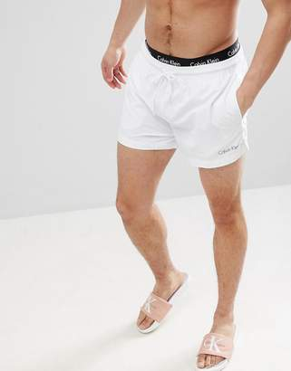 Calvin Klein Neo Short Swim Shorts with Double Waistband