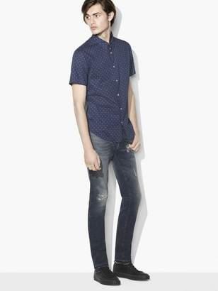 John Varvatos Star Print Shirt