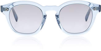 Oliver Peoples Boudreau L.A. Round-Frame Acetate Sunglasses
