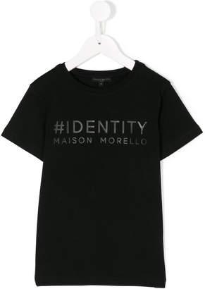 Frankie Morello Kids slogan-print T-shirt