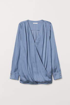H&M MAMA Nursing Blouse - Blue