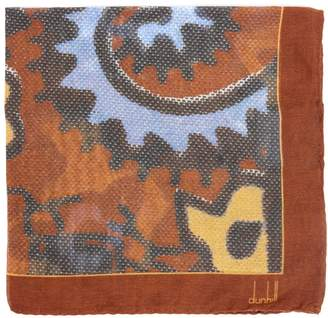 Dunhill Exploded Paisley-print silk-blend pocket square